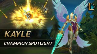 Kayle Champion Spotlight | Gameplay - League of Legends