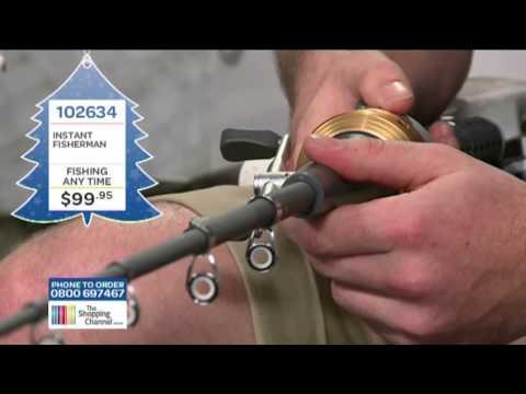 удочка instant fisherman видео