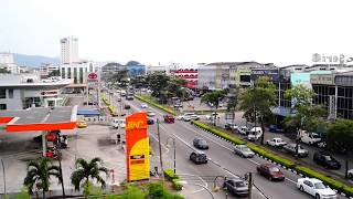 Batu Pahat Malaysia  city images : Malaysia Johor Batu Pahat BP View Scenery from Pelican Hotel Rooms Cafe Best View House BHP Toyota A