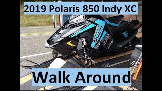 9. 2019 Polaris 850 Indy XC walk around video! 850 Patriot
