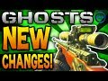 Call of Duty Ghosts - SNIPER Changes, NEW Spawns, Infected Guns & MORE NEWS! (COD Ghost)