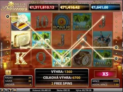 Mega Fortune Dreams – Online automaty – Otočenia zdarma