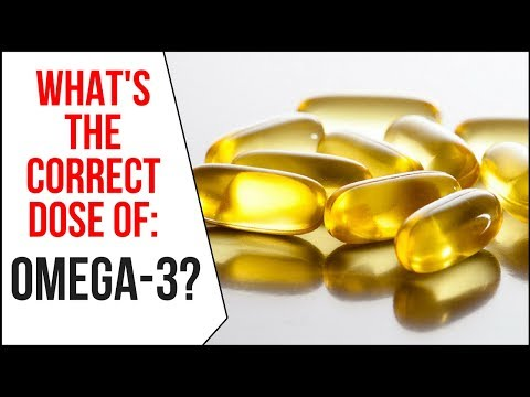 How Much Omega- 3 do You Need?