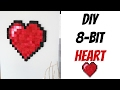 DIY 8 Bit Heart | Nerdy Crafts Ep 25