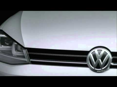 Volkswagen Shows off Seventh-generation VW Golf 7 in Germany