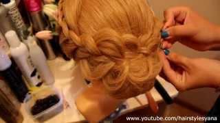 красивые прически для волос средней длины видео