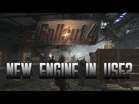 fallout 4 con un nuovo motore grafico