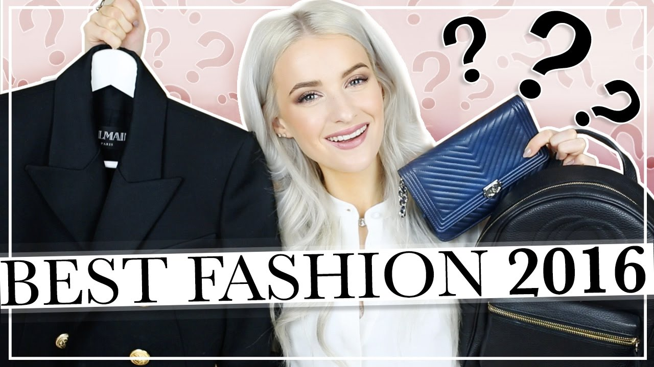 THE BEST FASHION PRODUCTS I BOUGHT IN 2016 | FASHION FAVOURITES