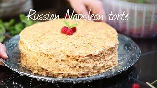 Russian Napoleon torte