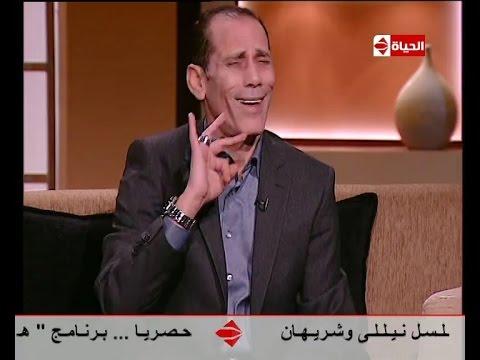 محمود عزب يقلد د. عمرو خالد في برنامج بوضوح