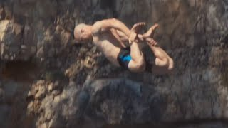 Extreme Cliff Jumping & Giant Rope Swing | Daredevils
