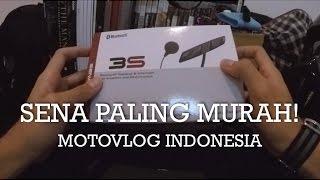 Review Sena Bluetooh Intercom Paling Murah - Sena 3S - Indonesia #motovlog 106