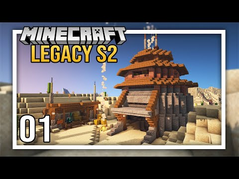 Nether Adventures with Sausage & Python + Starter Base! | Episode 1 | Legacy SMP Season 2
