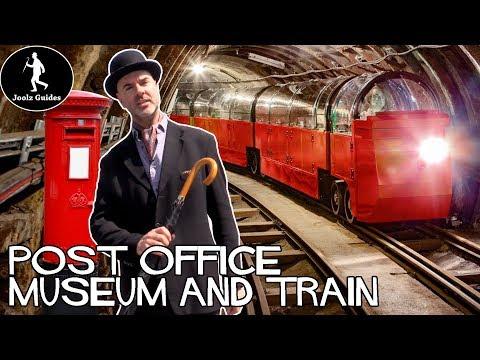 London Postal Museum and Secret Underground train - Where to take kids
