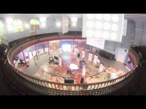 Timelapse: Setting up the Smart Cities Exhibition