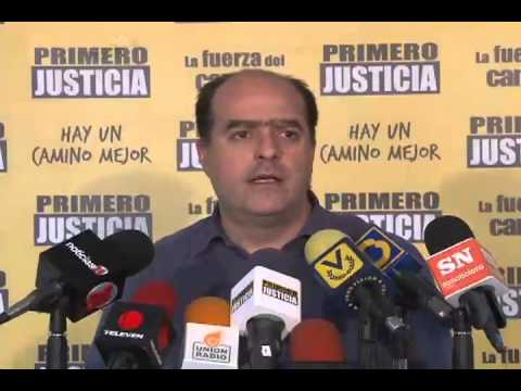Julio Borges: Es un honor para nosotros que este gobierno podrido nos tenga en el centro de sus ataques