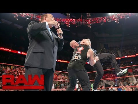 Randy Orton invades Raw to attack Brock Lesnar: Raw, Aug. 1, 2016