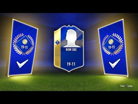 INSANE TOTS PACK! - RoW TRADABLE TOTS SBC! (19-11) - FIFA 18 Ultimate Team (видео)
