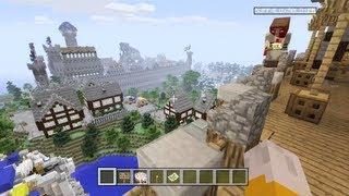 Minecraft Xbox - Beautiful World - Swordlock City Tour - Part 1