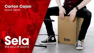 Carton Cajon - Sound Demo Videos 3