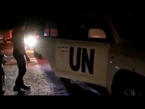 Συρία: Έφτασαν τα πρώτα κομβόι με ανθρωπιστική βοήθεια στη Νταράγια