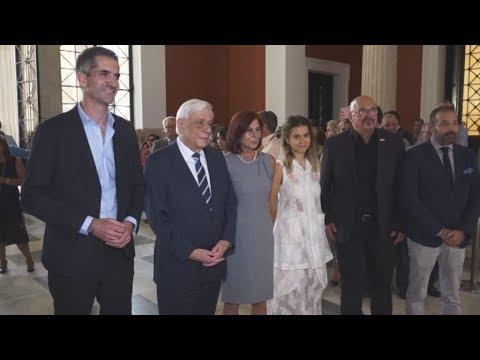 Επίσημα εγκαίνια της Αrt Athina 2019 από τον ΠτΔ στο Ζάππειο Μέγαρο