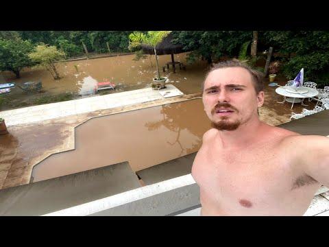 Minha casa alagou, perdi tudo /Gaba na enchente\