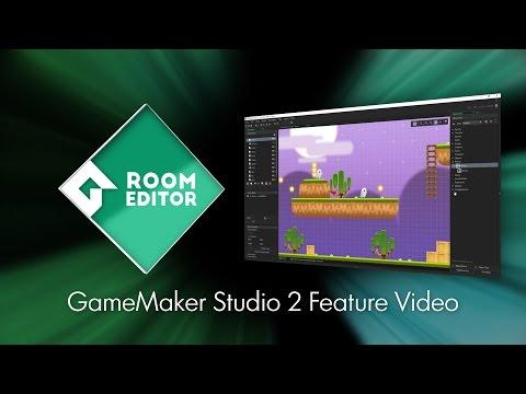 GameMaker Studio 2 - Room Editor
