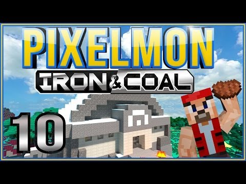 Minecraft Pixelmon Lyphil Region Adventures [Part 10] - The Frigid Quarry Gym feat. Castor