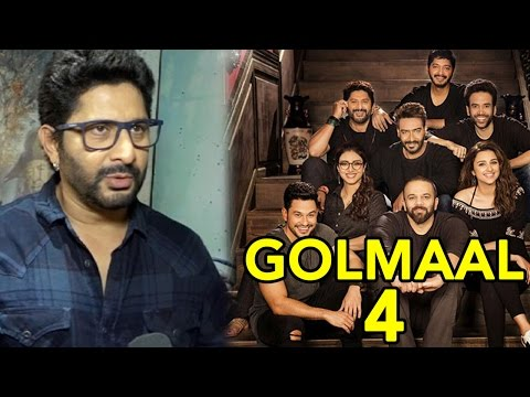 Arshad Warsi REVEALS The Theme Of Golmaal 4