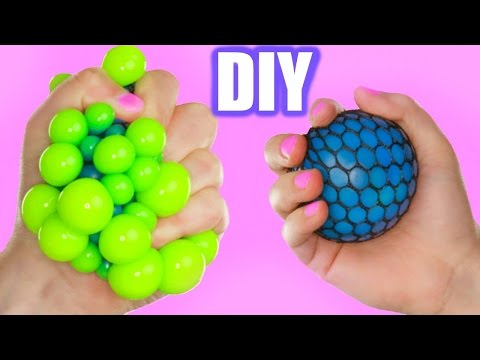 diy super cool squishy stress ball how to make the coolest stress ball video. Black Bedroom Furniture Sets. Home Design Ideas