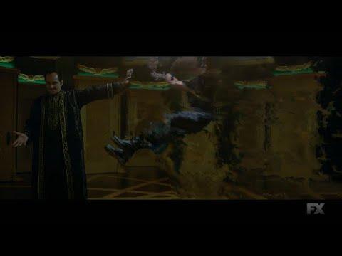 LEGION----DAVID AND LEGION BATTLES AMAHL FAROUK TO THE DEATH ---HD