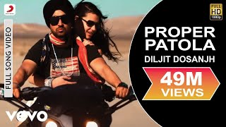 Proper Patola Music YouTube video