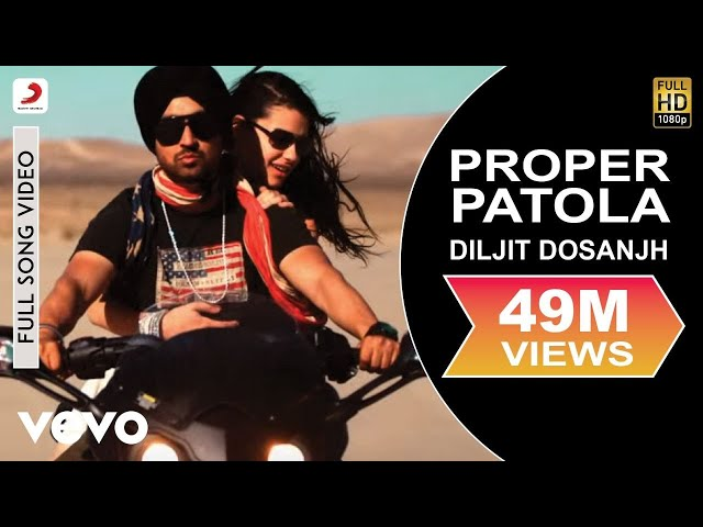 Diljit Dosanjh Diljit Dosanjh Proper Patola Feat Badshah