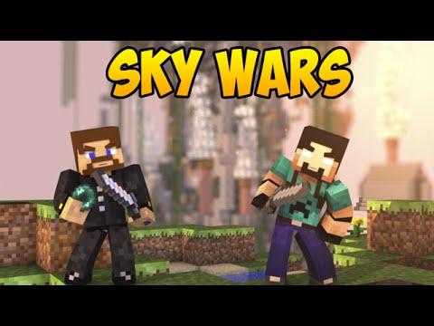 Minecraft SkyWars #5 - Пожертвовал собой