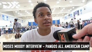 Moses Moody Interview - Pangos All American Camp