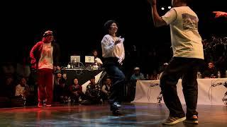 SOUNDRIP (P & Arisa) vs Co-thkoo (Gucchon & Kei) – JUSTE DEBOUT TOKYO 2019 POPPING SEMIFINAL