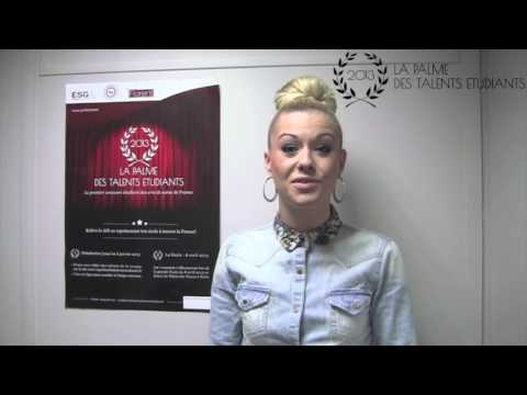 La Palme des Talents Etudiants - Jury n°7 - Katrina Patchett