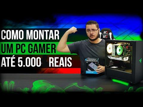 « COMO MONTAR um PC GAMER » Até 5 Mil Reais RGB... Montagem