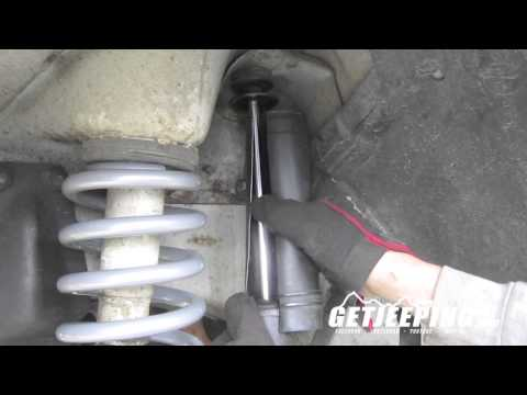 How To: Install front shocks on 1984-2001 Jeep Cherokee XJ – GetJeeping
