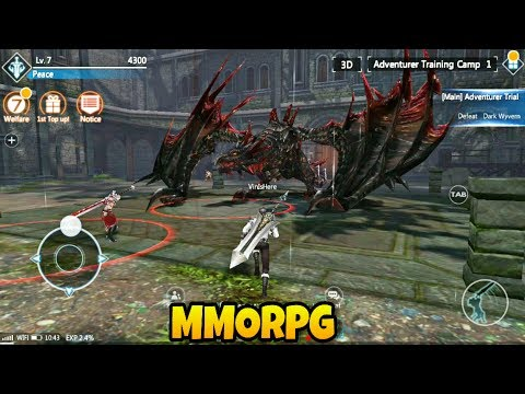 Top 13 Best MMORPG Android, iOS Games 2017