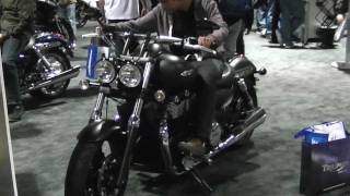 1. 2012 Triumph Thunderbird Storm Motorcycle