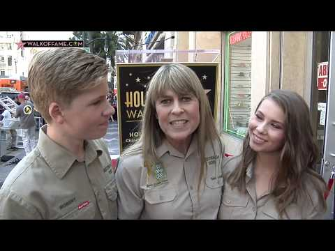 Steve Irwin Walk of Fame Ceremony