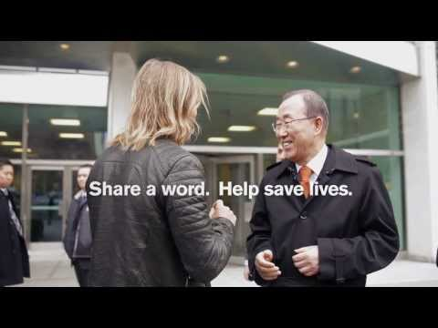 #TheWorldNeedsMore - David Guetta Visits UN Secretary General Ban Ki-moon
