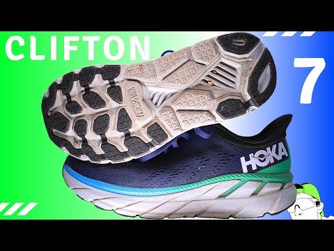 Hoka Clifton 7 Review after 50 Miles
