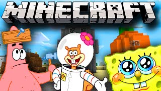 Minecraft SPONGEBOB Bikini Bottom Map PVP! w/Lachlan&Friends!