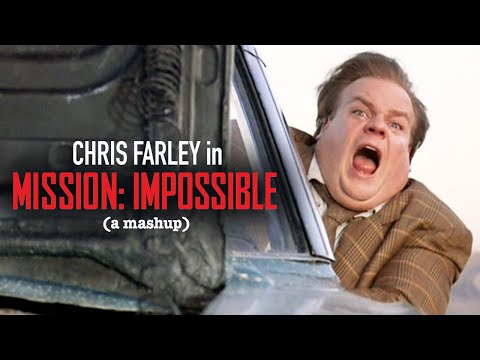Chris Farley in 'Mission Impossible: Rogue Nation'