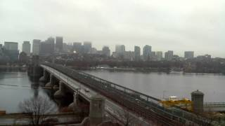Full Day Time-Lapse Over Longfellow Bridge - Dec 03, 2014