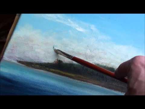 Malen mit Acryl: Wolken (Teil 1/2)