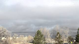 Snow Clouds Time Lapse